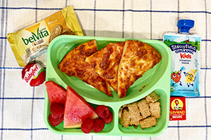a child's lunch box for school